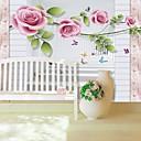 billige Vegglamper-bakgrunns / Veggmaleri Lerret Tapetsering - selvklebende nødvendig Blomstret / Mønster / 3D