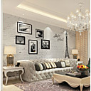 cheap Wallpaper-Wallpaper / Mural Canvas Wall Covering - Adhesive required Botanical / Art Deco / 3D