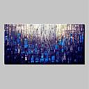 levne Abstraktní malby-Hang-malované olejomalba Ručně malované - Abstraktní Moderní Bez vnitřní rám