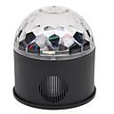 billige Udendørs Lampetter-YouOKLight 1pc 9 W 9 LED Perler Fjernbetjening LED Scenelys RGB + Hvid