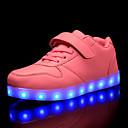 povoljno Cipele za dečke-Dječaci / Djevojčice Svjetleće tenisice / Božić PU Sneakers Mala djeca (4-7s) / Velika djeca (7 godina +) LED Crvena / Plava / Pink Jesen / Zabava i večer