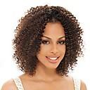 billige Blondeparykker med menneskehår-Ekte hår Blonde Forside Parykk Peruviansk hår Kinky Curly Parykk 130% Hair Tetthet Dame Blondeparykker med menneskehår