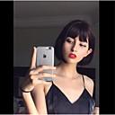 povoljno Perike s ljudskom kosom-Remy kosa Full Lace Lace Front Perika Kratak Bob stil Brazilska kosa Kinky Ravno Natural Perika 130% 150% 180% Gustoća kose Visokog sjaja Sexy Lady Cool Udobnost Udoban Žene Kratko Perike s ljudskom