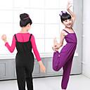 billige Danseklær til barn-Ballet Kostymer Jente Trening / Ytelse Elastan / Lycra Strikk Ermeløs Trikot / Heldraktskostymer