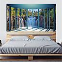 levne Samolepky na zeď-Ozdobné samolepky na zeď - 3D samolepky na zeď / Dovolená samolepky na zeď Díkůvzdání / Prázdninový Ložnice / studovna či kancelář