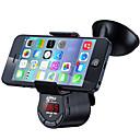 billige Bluetooth/håndfritt bilsett-fm09 multifunksjons håndfri bilmonteringssett FM-sender mp3-lydspiller med bilsugerholder for mobiltelefon gps