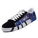 hesapli Erkek Sneakerları-Erkek Ayakkabı PU Bahar Günlük Spor Ayakkabısı Günlük için Siyah / Yeşil / Mavi