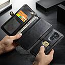 お買い得  人工毛キャップレスウィッグ-CaseMe ケース 用途 Samsung Galaxy S9 Plus ウォレット / カードホルダー / 耐衝撃 フルボディーケース ソリッド ハード PUレザー のために S9 Plus