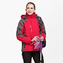 cheap RC Drone Quadcopters & Multi-Rotors-Women's Hiking Jacket outdoor Autumn / Fall Winter Windproof Lightweight Quick Dry Breathability Thick 100% Polyester Terylene Jacket Top Single Slider Ski / Snowboard Hiking Outdoor Exercise Green