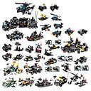 povoljno Building Blocks-Kocke za slaganje Građevinski set igračke Poučna igračka 400-800 pcs Vojni Tenk Borac kompatibilan Legoing simuliranje Vojno vozilo Tenk Helikopter Sve Dječaci Djevojčice Igračke za kućne ljubimce