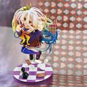 billige Anime actionfigurer-Anime Action Figurer Inspirert av Intet Spill Intet Liv Shiro PVC 19 cm CM Modell Leker Dukke
