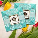cheap Wedding Invitations-Wrap & Pocket Wedding Invitations 5 Pieces - Invitation Cards Modern Style Pearl Paper Pattern / Print