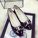 cheap Women's Flats-Women's Flats Bowknot Patent Leather Ballerina Spring / Summer Black / Pink / Almond / EU39