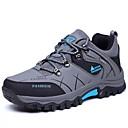 hesapli Erkek Atletik Ayakkabıları-Erkek Ayakkabı PU Bahar Günlük Atletik Ayakkabılar Dağ Yürüyüşü Günlük için Gri / Kahverengi / Koyu Yeşil