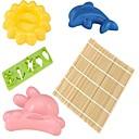 رخيصةأون أدوات & أجهزة المطبخ-2pcs ادوات المطبخ PP صديقة للبيئة / جميل / المطبخ الإبداعية أداة غرفة الطعام والمطبخ / قالب DIY / أدوات السوشي Everyday Use / رايس / كرات الأرز