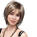 cheap Synthetic Capless Wigs-Synthetic Wig Natural Straight Style Bob Capless Wig Brown Brown Synthetic Hair 12 inch Women's Fashionable Design / New Arrival / Comfortable Brown Wig Medium Length MAYSU Natural Wigs