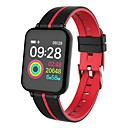 billige Smartklokker-KUPENG B57A Smart armbånd Android iOS Bluetooth Sport Vanntett Pulsmåler Blodtrykksmåling Pekeskjerm Pedometer Samtalepåminnelse Søvnmonitor Stillesittende sittende Påminnelse Finn min enhet