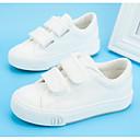 ราคาถูก รองเท้าเด็กผู้หญิง-เด็กผู้ชาย / เด็กผู้หญิง รองเท้า ผ้าใบ ฤดูใบไม้ผลิ & ฤดูใบไม้ร่วง ความสะดวกสบาย รองเท้าผ้าใบ สำหรับ เด็ก / วัยรุ่น สีดำ / แดง / สีฟ้า