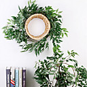 abordables Plantes artificielles-Fleurs artificielles 1 Une succursale Fixation Murale Elégant style pastoral Renoncules Guirlande et Fleur Murale