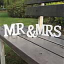 رخيصةأون ديكورات الزفاف-رسلة & رقم خشب زينة الزفاف زفاف الزفاف كل الفصول