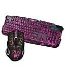 olcso mouse keyboard combo-Vezetékes Egér billentyűzet kombináció Bájos / 3D figura / Menő USB által Gaming billentyűzet Gaming Mouse / Office Mouse 5500 dpi 6 pcs