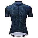 cheap Cycling Jersey & Shorts / Pants Sets-TELEYI Men's Short Sleeve Cycling Jersey - Blue Zebra Bike Jersey Quick Dry Sports Polyester Mountain Bike MTB Road Bike Cycling Clothing Apparel / Stretchy / SBS Zipper