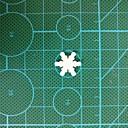 abordables Décorations de Noël-Décorations de vacances Décorations de Noël Sapins de Noël / Décorations de Noël Décorative / Vacances Blanc 200pièces