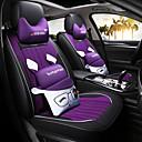 ราคาถูก หมอนอิงในรถ-Car Seat Covers ชุดเบาะรองศีรษะและเอว สีม่วง / กาแฟ / ฟ้า หนัง / ผ้าโพลีเอสเตอร์ Cartoon สำหรับ Universal / Mazda ทุกปี Atenza