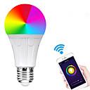halpa Smart Valot-e27 7w led-wifi-lamppuhelmiä smd 5730 toimii amazon alexa / app-ohjauksella / google home rgbw 85-265v: ssä