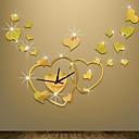 levne Nástěnné hodiny-Moderní styl Plastický Nepravidelný Vevnitř