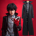 cheap Anime Costumes-Inspired by Persona 5 Ren Amamiya / Akira Kurusu Anime Cosplay Costumes Cosplay Suits Solid Colored Coat / Top / Pants For Men's / Women's