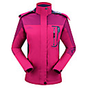 cheap Softshell, Fleece & Hiking Jackets-Women's Hiking Jacket Outdoor Autumn / Fall Spring Windproof Rain Waterproof Breathability Sweat-Wicking Jacket Top Single Slider Camping / Hiking Outdoor Exercise Camping / Hiking / Caving Red