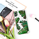 billige iPhone-etuier-Etui Til Apple iPhone XR / iPhone XS Max Mønster Bakdeksel Planter / Tegneserie Myk TPU til iPhone XS / iPhone XR / iPhone XS Max