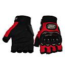 preiswerte Motorradhandschuhe-Halber finger Unisex Motorrad-Handschuhe Atmungsaktives Gewebe Atmungsaktiv / Stoßfest / Schützend