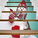 זול קישוטי חג מולד-קישוטים לחג קישוטי חג מולד חג מולד / חפצים דקורטיביים דקורטיבי הדפס 6pcs