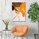 halpa Kehystetty taide-Kehystetty kanvaasi Kehystetty setti - Abstrakti Muovi Illustration Wall Art