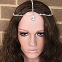 povoljno Party pokrivala za glavu-Kristal / Tekstil / Legura tijare / Lanac glave s 1 Vjenčanje / Special Occasion / Zabava / večer Glava