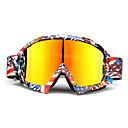 baratos Peças de Motos e Quadriciclos-óculos de esqui de esqui snowboard eyewear óculos anti-uv para motocicleta motocross lens
