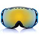tanie Wyposażenie ochronne-okulary przeciwmgielne uv z dwoma soczewkami, okulary rowerowe, sferyczne, snowboardowe