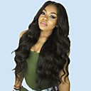 cheap Human Hair Wigs-Unprocessed Human Hair 360 Frontal Lace Front Wig Deep Parting Brazilian Hair Body Wave Wig 130% 150% 180% Density with Baby Hair Adjustable Heat Resistant Best Quality Thick Natural Women's Mid