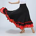 preiswerte Tanzkleidung für Balltänze-Für den Ballsaal Unten Damen Training / Leistung Elasthan Horizontal gerüscht Hoch Röcke