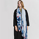 cheap Wedding Wraps-Sleeveless Voile Wedding / Party / Evening Women's Wrap / Women's Scarves With Printing / Floral Shawls / Scarves