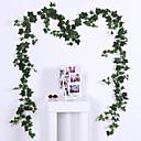 halpa Keinotekoiset kasvit-Keinotekoinen Flowers 1 haara Klassinen Traditionaalinen / klassinen Pastoraali Tyyli Kasvit Seinäkukka
