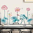 お買い得  ウォールステッカー-飾りウォールステッカー - 3D ウォールステッカー / 動物の壁のステッカー 花柄 / 植物の / 3D 浴室 / ダイニングルーム / 研究室 / オフィス
