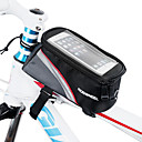cheap Bike Frame Bags-ROSWHEEL Cell Phone Bag / Bike Frame Bag 5.5 inch Touch Screen Cycling for iPhone 8 Plus / 7 Plus / 6S Plus / 6 Plus / iPhone X / iPhone XR Red / Waterproof Zipper