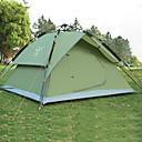 رخيصةأون مفارش و خيم و كانوبي-Sheng yuan 4 شخص خيمة شفافة خيمة التخييم العائلية في الهواء الطلق ضد الهواء مكتشف الأمطار التنفس إمكانية طبقات مزدوجة أوتوماتيكي خيمة التخييم >3000 mm إلى Camping / Hiking / Caving تنزه قماش اكسفورد