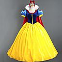 halpa Elokuva & TV teeman puvut-Prinsessa Naamiaisasu Naisten Elokuva Cosplay Prinsessa Keltainen Leninki Viitta Halloween Karnevaali Masquerade Puuvilla Polyesteria