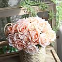 זול פרחים מלאכותיים-פרחים מלאכותיים 1 ענף יחיד מודרני עכשווי פסטורלי סגנון ורדים פרחים לשולחן