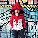 povoljno Kompletići za djevojčice-Dijete Djevojčice Aktivan / Osnovni Print Print Normalne dužine Pamuk Jakna i kaput Blushing Pink / Dijete koje je tek prohodalo