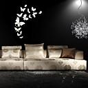 رخيصةأون غطاء-لواصق حائط مزخرفة - ملصقات الحائط الحيوان الأزهار / النباتية داخلي